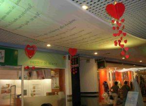 Exposition Poème géant à Marseille Valentine