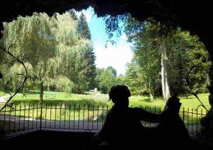 La nymphe de la Seine dans sa grotte
