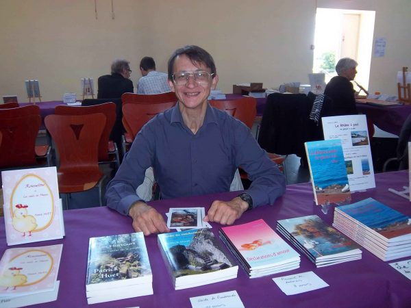 Patrick Huet au salon du livre de Collonges au Mont d'or en 2013