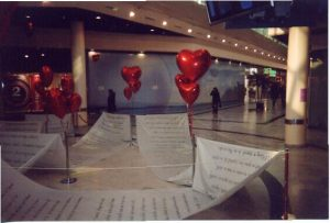 Drancy petits coeurs et poème Saint Valentin