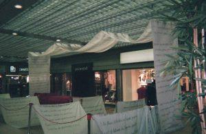 Exposition Poème géant à Nyon en Suisse