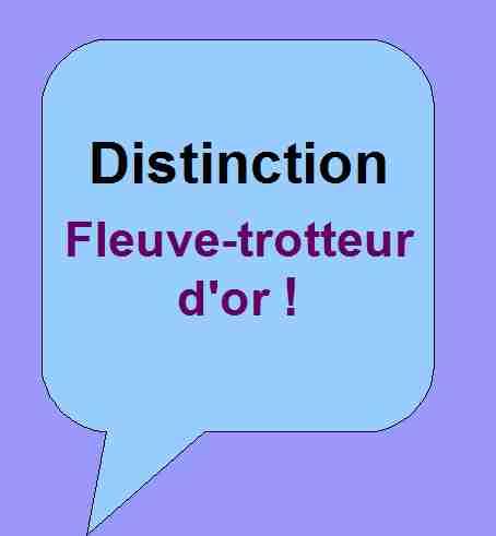 Distinction Fleuve-trotteur d'or