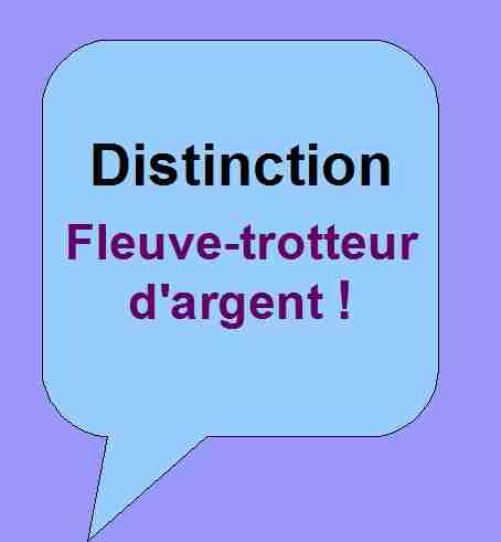 Distinction Fleuve-trotteur d'argent pour soutenir les activités littéraires de Patrick Huet.