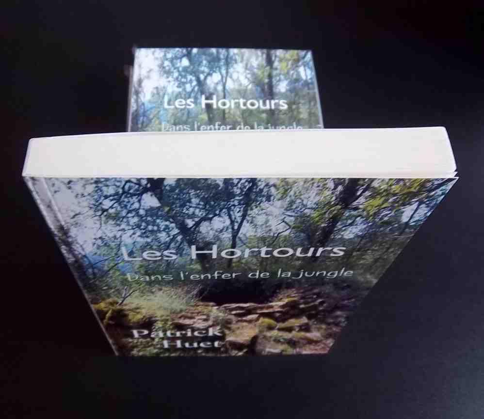 Roman de science-fiction les Hortours, de Patrick Huet