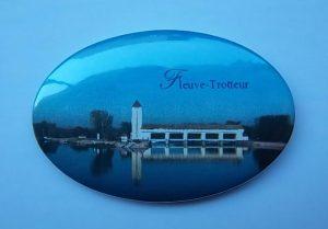 Badge Fleuve-trotteur
