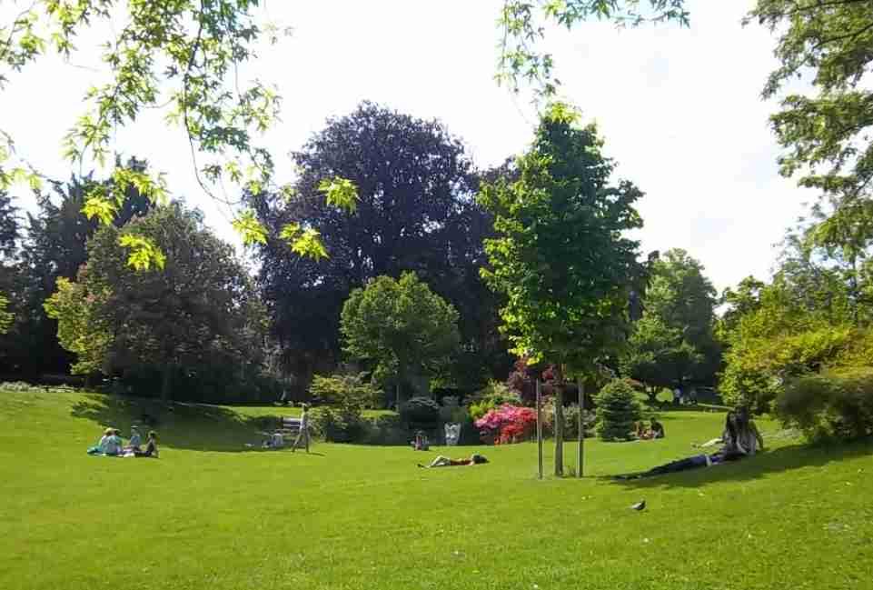 Clermont-Ferrand et l'Auvergne, le jardin Lecoq. Photo de Patrick Huet.