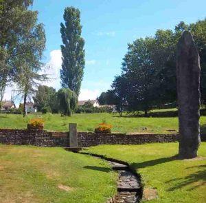 La source de la Saône à Vioménil. Photo de Patrick Huet