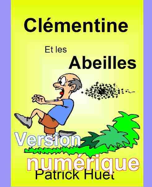 Livres pour enfants-Série Clémentine en numérique- de Patrick Huet.