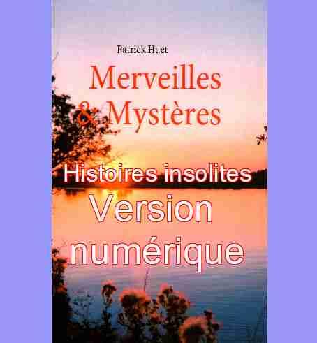 Catégorie Histoires insolites de Patrick Huet - Version numérique.