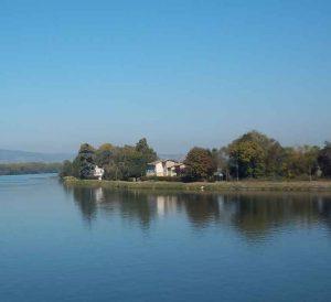 Photo de Thoissey et de la Saône par Patrick Huet