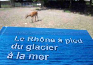Le livre du Rhône au Parc Général Marchand de Thoissey