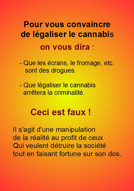 Informations importantes sur le cannabis