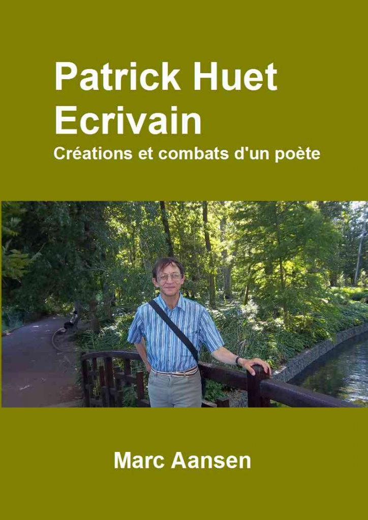 Livre biographique sur Patrick Huet