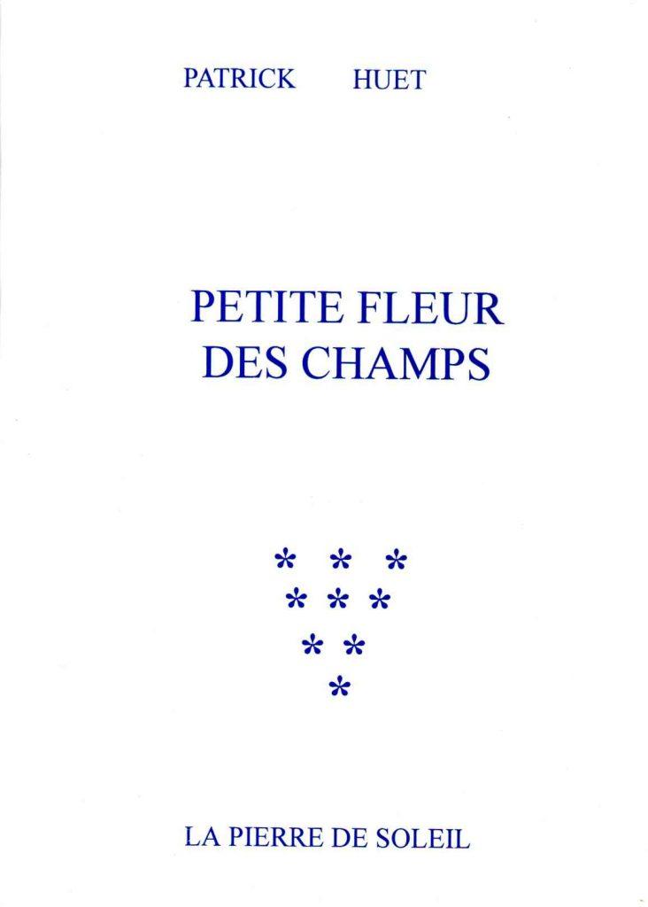 Le premier roman de Patrick Huet. Ouvrage de collection.