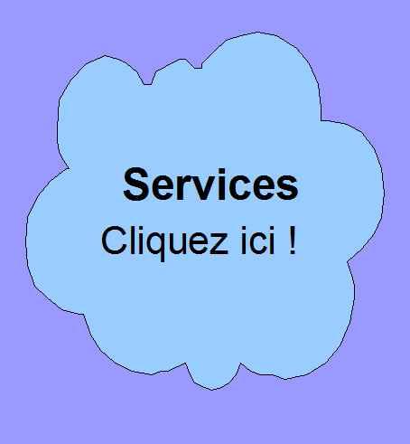 Communiqués au sujet des services que vous proposez.