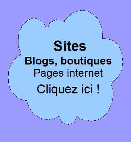 Communiqués au sujet de votre site, blog, boutique ou page internet.