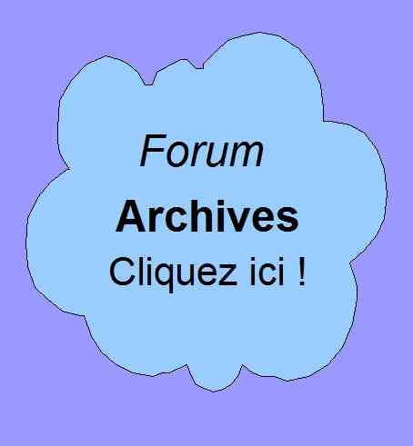 Forum de Patrick Huet - discussions anciennes ou obsolètes.