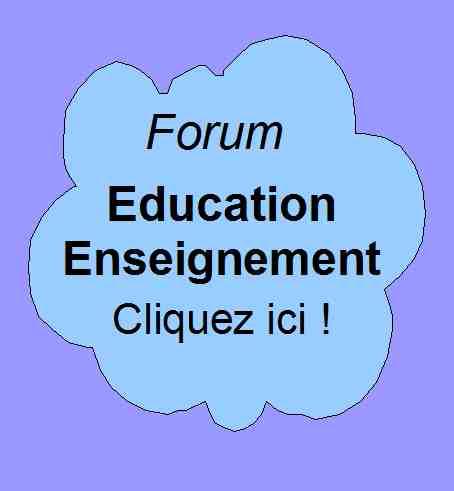 Forum de Patrick Huet ofrrant des discussions sur le thème de l'enseignement et de l'éducation.