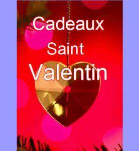 Cadeaux pour la Saint Valentin.