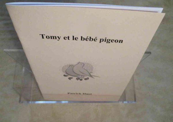 Conte Tomy et le bébé pigeon de Patrick Huet.