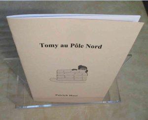 Conte Tomy au Pôle nord.