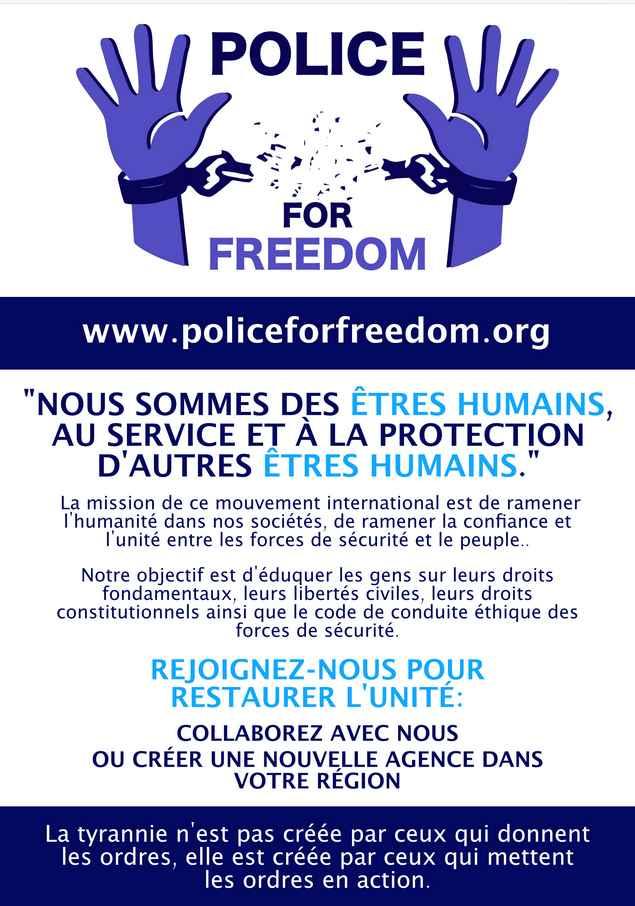 Association Policiers pour la liberté.