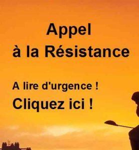 Appel à la Résistance civile lancé par France Soir.