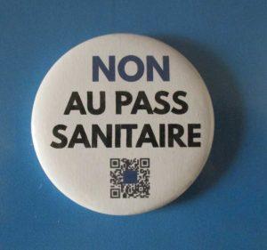 Badge Non au Pass sanitaire