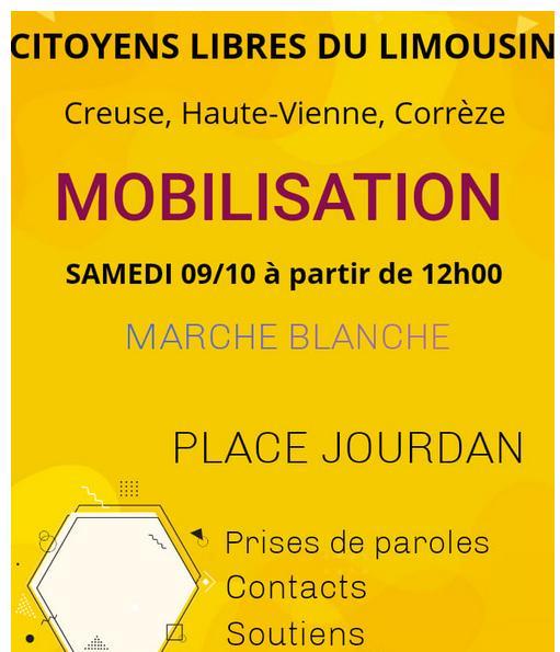 Citoyens libres du Limousin - pour retrouver toutes nos libertés.